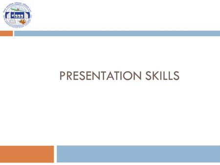 PRESENTATION SKILLS. Presentation  A visual and aural event intended to communicate, for the purposes of providing information, helping to understand,