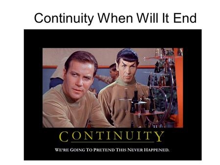 Continuity When Will It End. For functions that are normal enough, we know immediately whether or not they are continuous at a given point. Nevertheless,