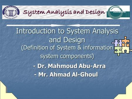 Program and Management Analysis