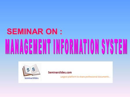SEMINAR ON :. ORGANISATION Organizations are formal social units devoted to attainment of specific goals. Organizations use certain resources to produce.