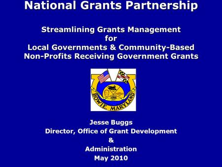 local government grants given by the national government Annexure: conditional grants to provinces and local government 307 1998/99 voted forward estimates budget 1999/00 2000/01 2001/02 municipal financial support programme r 000s 7 240 purpose: to provide technical support to municipalities to assist them in.