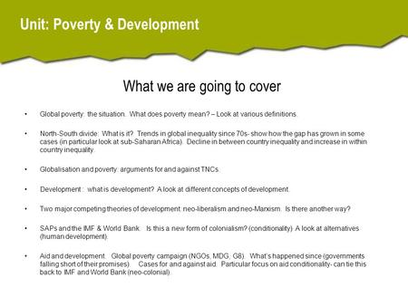 how does poverty affect worldwide development Empower a stable civil society that will build the trust and public self-confidence which enables participatory governance democratic, culturally diverse, and socially inclusive societies are essential parts of modern sustainable development high worldwide military expenditure is continuing to affect sustainable development.