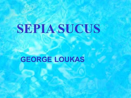 SEPIA SUCUS GEORGE LOUKAS. The following symptoms help us to understand the Sepia psychological state: Ailments from love disappointment. Ailments from.