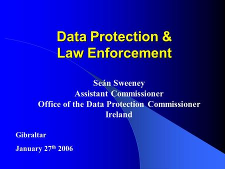 the data protection act essay