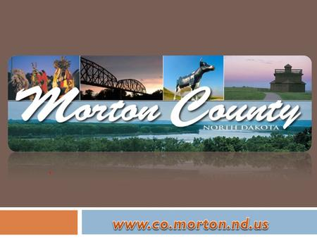 5 th largest county in state (2010 Census) Mandan New Salem Glen Ullin Hebron Flasher Almont/Sims Saint Anthony.