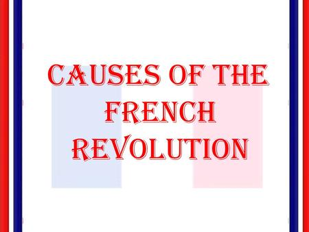 French Revolution 4 Essay Research Paper The