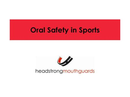 Oral Safety in Sports. The American Dental Association recommends mouthguards for: Baseball Basketball Bicycling Boxing Equestrian Events Field Hockey.