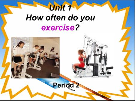 Unit 1 How often do you exercise? Period 2. What do they do on weekends? 100% 4% 80% 45% 50% 5% 0% 80%