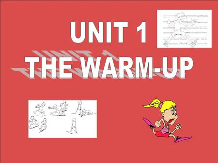 What's a warm-up? A warm-up is a gentle, slow exercise at the beginning of a workout which prepares muscles, the heart rate, blood pressure and body temperature.
