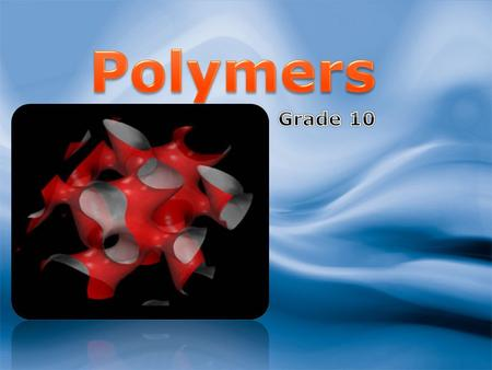 2 3 18/09/2015 Monomers and Polymers Ethene Here's ethene again. Ethene is called a MONOMER because it is just one small molecule. We can use ethene.