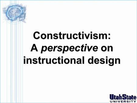 Constructivism: A perspective on instructional design.
