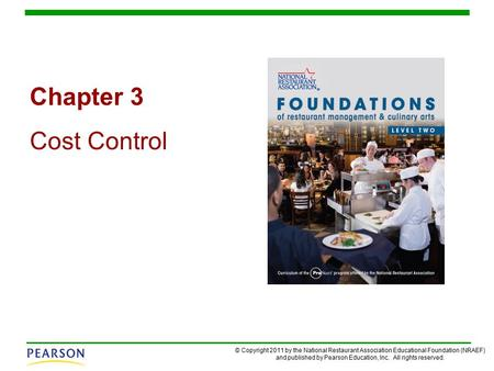 Chapter 3 Cost Control.