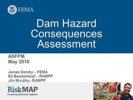 Dam Hazard Consequences Assessment