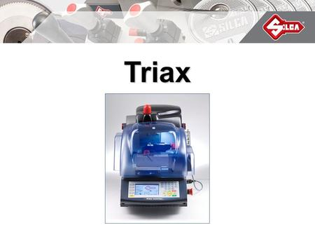 Triax Quattro. Automatic electronic key-cutting machine for cutting and engraving laser and dimple keys.