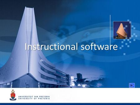 Instructional software. Models for integrating technology in teaching Direct instructional approach Indirect instructional approach.