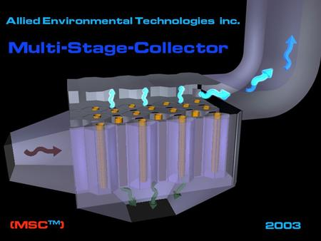 Allied Environmental Technologies, Inc.. Allied Environmental Technologies, Inc. - MSC™ Development 2 MULTI-STAGE COLLECTOR (MSC™) DEVELOPMENT.