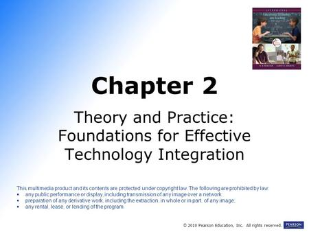 Theory and Practice: Foundations for Effective Technology Integration