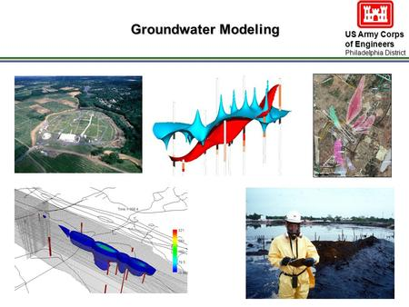 US Army Corps of Engineers Philadelphia District Groundwater Modeling.