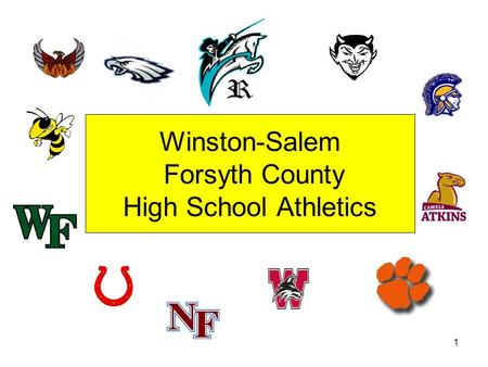 Winston-Salem Forsyth County High School Athletics 1.