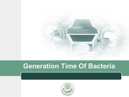 Generation Time Of Bacteria