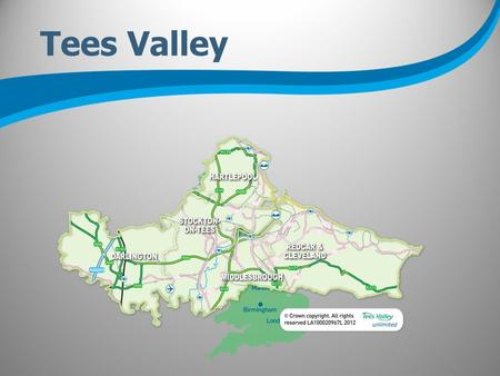 Tees Valley. Strength Opportunity Confidence Ambition.