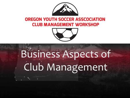 Business Aspects of Club Management. Revenue, Expenses, and Budgeting.