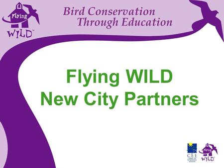 Bird Conservation Through Education Flying WILD New City Partners.
