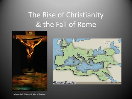 the reasons for the rise of christianity in the early roman empire How did the roman empire rise the rise of the roman  in the early part  many historians believe that the main reasons and events that led to the fall.