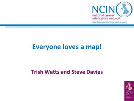Everyone loves a map! Trish Watts and Steve Davies.