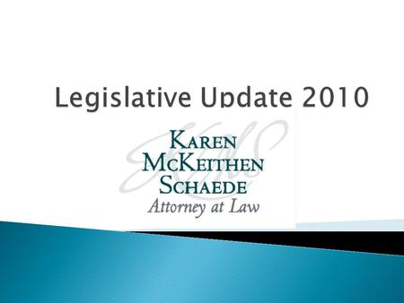  New Bills Passed in North Carolina affecting Health Laws  Update of Health Care Reform.