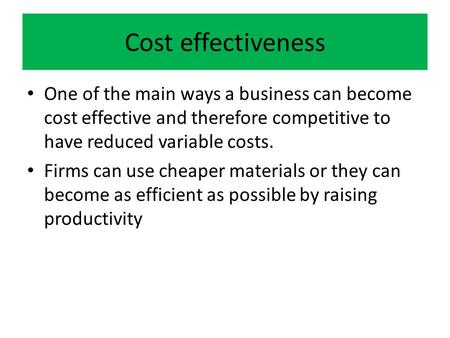 business costs for employees