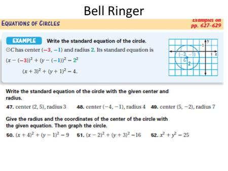 Bell Ringer. If-Then Statements and Deductive Reasoning.