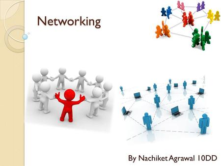 Networking By Nachiket Agrawal 10DD.