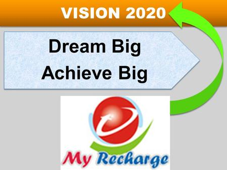 VISION 2020 Achieve Big Dream Big.