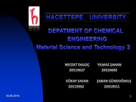 Material Science and Technology 2