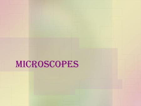 Microscopes. Rules for using a microscope 1.Always carry the microscope with 2 hands 2.Always start with the lowest power 3.Return to the lowest power.