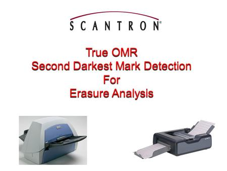 True OMR Second Darkest Mark Detection For Erasure Analysis.