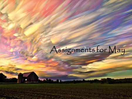 Assignments for May. 5/1Learning Target: I can summarize a primary document  Quiet Reading/Work  Vocabulary: Notebook check, Today 4 Words (well done)