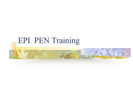 EPI PEN Training. WHAT IS A FOOD ALLERGY? Over-Reaction in the body to a food Release of chemical called HISTAMINE Triggers reactions in body.
