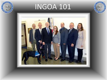 INGOA 101. INGOA Mission The mission of INGOA is to be the lead professional organization for the Iowa National Guard enhancing all aspects of unit readiness.