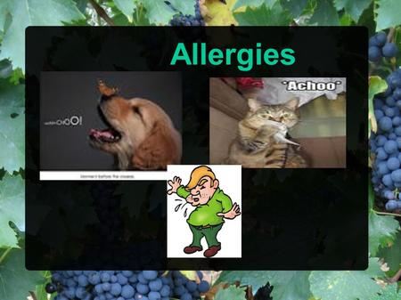 Allergies. The Respiratory system and carbon dioxide between an organism and the environment. The respiratory system is involved in the intake and exchange.