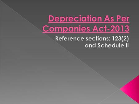 1- Depreciation is the systematic allocation of the depreciable amount of an asset over its useful life. The depreciable amount of an asset is the cost.