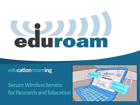 Education roaming Secure Wireless Service for Research and Education.