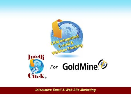 For ® Interactive Email & Web Site Marketing.  Email marketing has an average return on investment of $43.52 for every dollar spent, which is expected.
