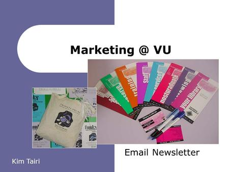 VU  Newsletter Kim Tairi. VU Library - making your future possible 2 About Us 52, 207 Student s 2,242 Staff.