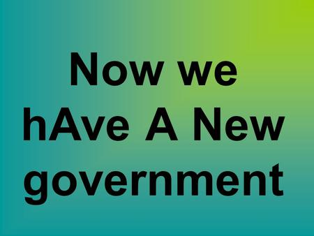 Now we hAve A New government. Constitution 1787 Federalism – Strong national government co-exists with a state government Supremacy Clause Objectives.
