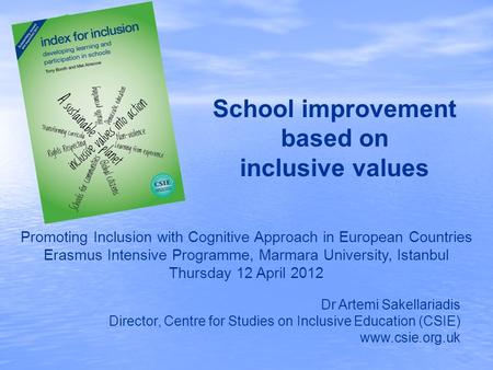 School improvement based on