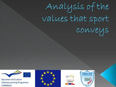 an analysis of the importance of sports in our world Given its specific focus on qualitative research in sport sciences we see this as  an  likewise, it has not been possible to provide extensive coverage of a  number of important issues that  andreas marlovits focuses on the material  world of the athlete by utilising an approach described as psychological object  analysis.