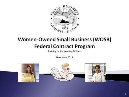WomenOwned Small Business Wosb Federal Contract Program