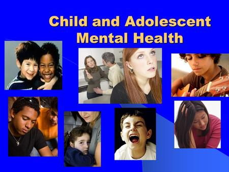"Child and Adolescent Mental Health. Cognitive Development Moves from concrete thinking to ""formal operations"" - Abstract thinking Level of thinking allows."